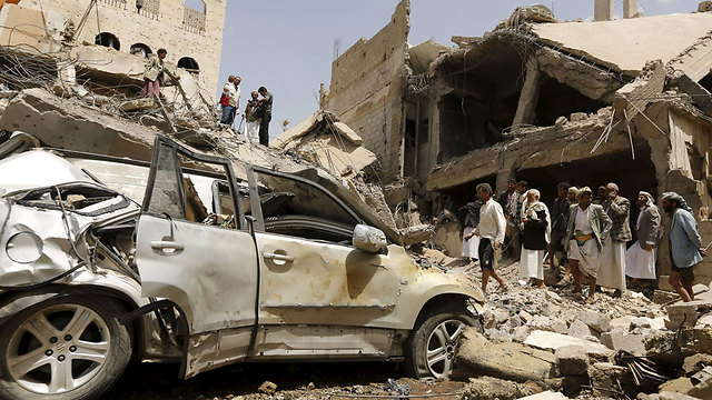 A vehicle in the Yemini city of Sanaa (Photo: Reuters)