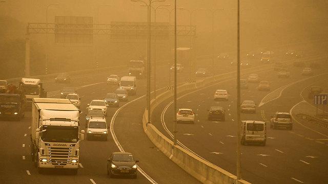 כביש החוף (צילום: AFP) (צילום: AFP)