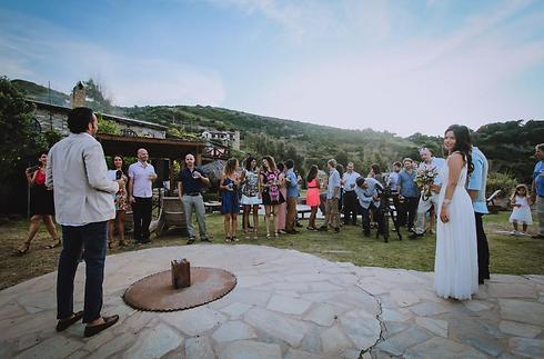 """חתונת חלומות ביוון. גל ולירון (צילום: גלי לוי באדיבות  """"wedaway"""") (צילום: גלי לוי באדיבות"""