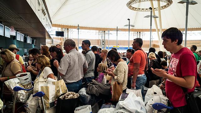 בנמל התעופה של שארם א-שייח (צילום: getty images) (צילום: getty images)