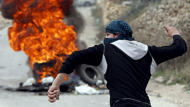 Two-thirds support violent struggle against Israel (Photo: Reuters)