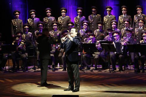 מקהלת הצבא האדום (צילום: אלירן אביטל) (צילום: אלירן אביטל)