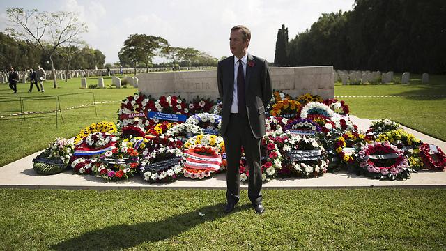 British Ambassador to Israel David Quarrey (Photo: Reuters)