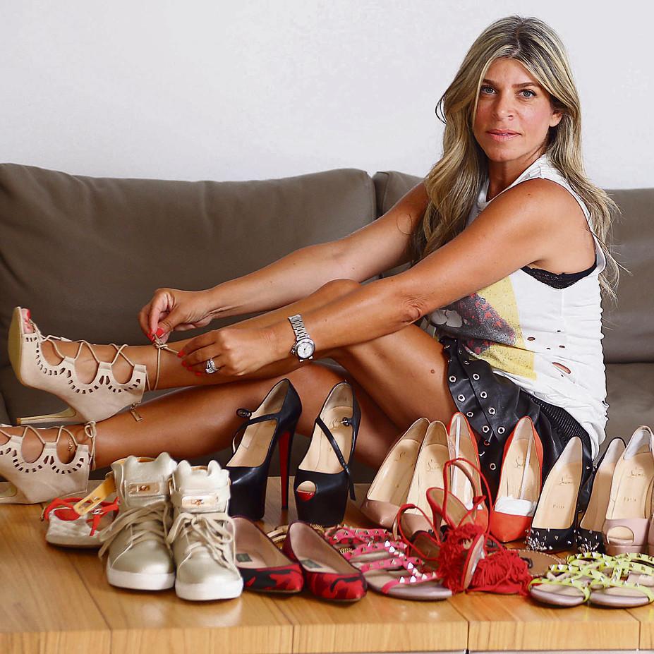 שרית שמש: יש לי יותר מ-50 זוגות נעליים   צילום: אביגיל עוזי