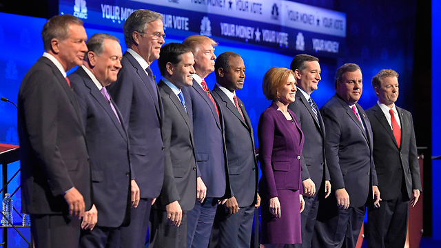 Some of the Republican candidates (Photo: AP)