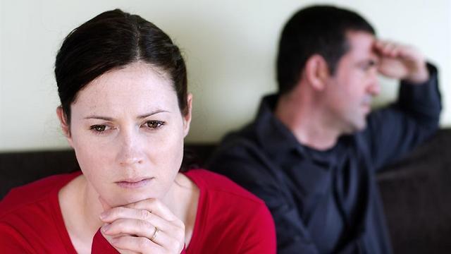 למכריז על הגירושין יש יתרון מובנה (צילום: shutterstock)