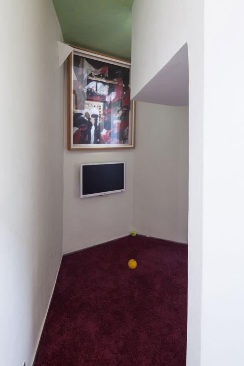 פינת הטלוויזיה (צילום: טל ניסים)