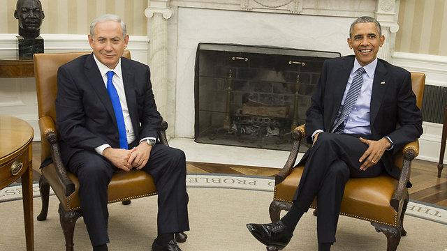 Obama and Netanyahu, Photo: AFP