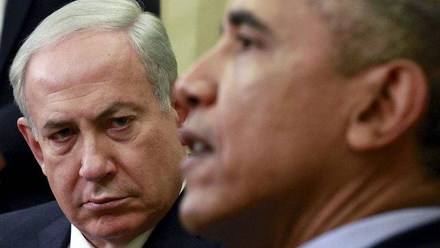 Obama and Netanyahu (Photo: Reuters)