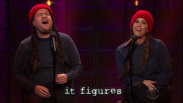 כובע צמר אדום ושתי צמות זה אירוני? ()