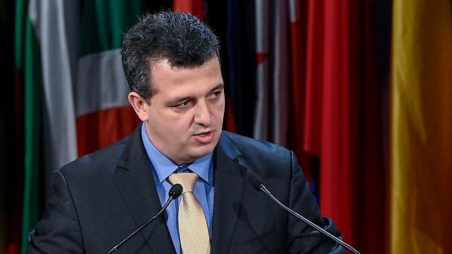 Israeli envoy to UNESCO Carmel Shama HaCohen