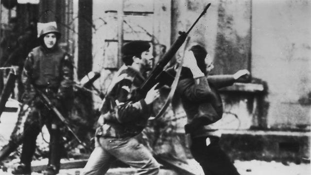 """החקירה קבעה: לא היה איום. אירועי """"יום ראשון הארור"""", 1972 (צילום: Gettyimages) (צילום: Gettyimages)"""