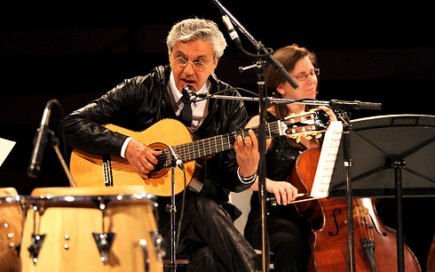 Caetano Veloso. 'Stop occupation, stop segregation, stop oppression' (Photo: Getty Images)