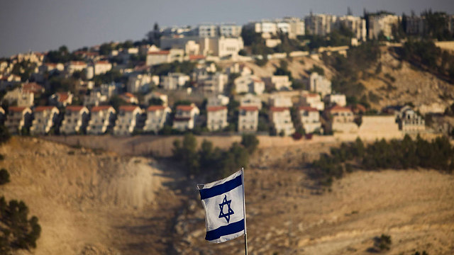 View of Ma'ale Adumim outside of Jerusalem (Photo: AP)