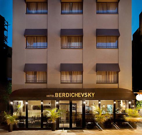 """בר הקוקטיילים הידוע """"בל בוי"""" במלון ברדיצ'בסקי"""