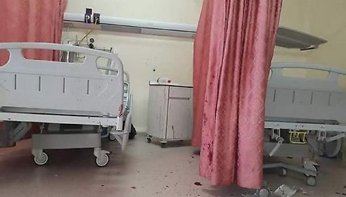Hospital bed from which Azzam Shalaldeh was arrested