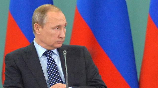 הודה לראשונה שהתרסקות המטוס הייתה פעולת טרור. פוטין (צילום: AFP) (צילום: AFP)