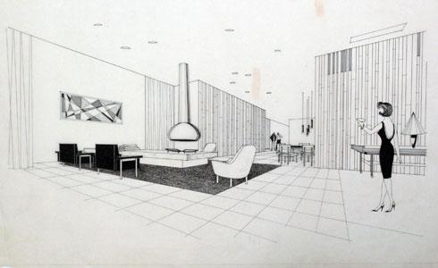 אוספים של אדריכלים חשובים בישראל נזרקו לפח (באדיבות ארכיון אדריכלות ישראל)