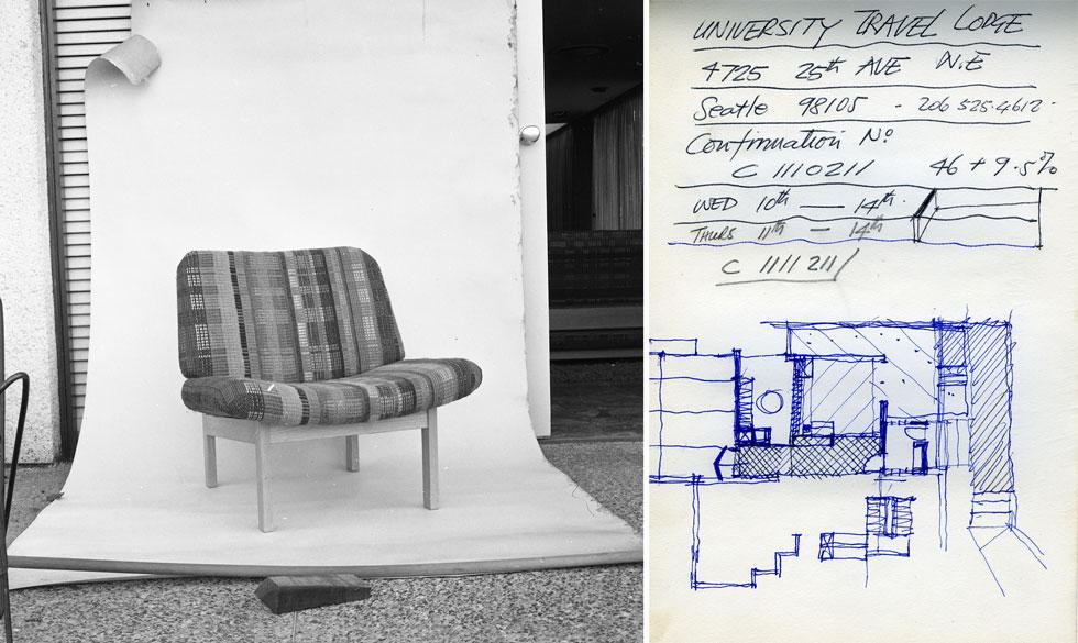 סקיצות וצילומים רבים נכללים באוסף של ארטור גולדרייך ותמר דה שליט, הפיילוט של הרווארד (באדיבות ארכיון אדריכלות ישראל)