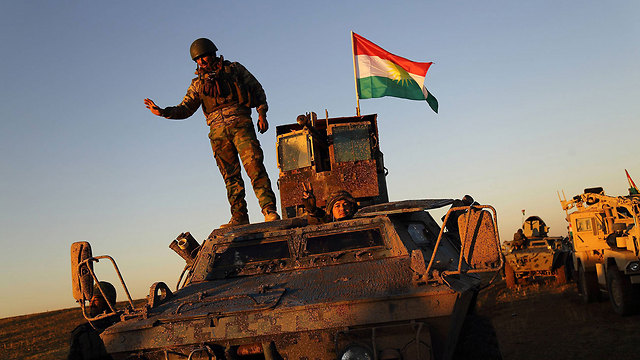Kurdish forces in Sinjar, Iraq (Photo: MCT)
