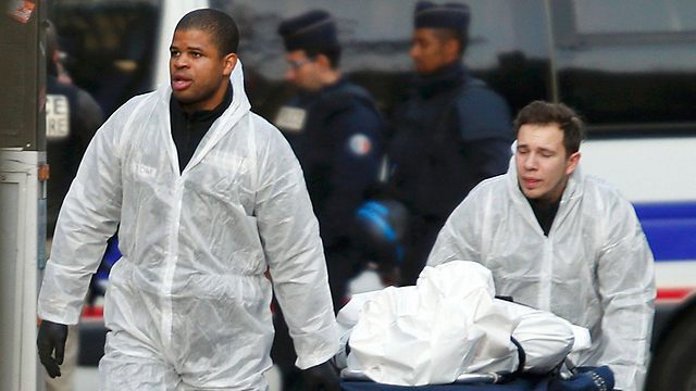 Terror victim in Paris attack (Photo: Reuters)