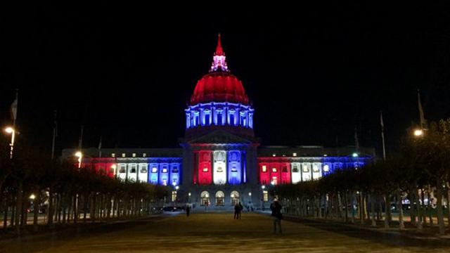 בניין עיריית סן פרנסיסקו (צילם: מתוך טוויטר) (צילם: מתוך טוויטר)