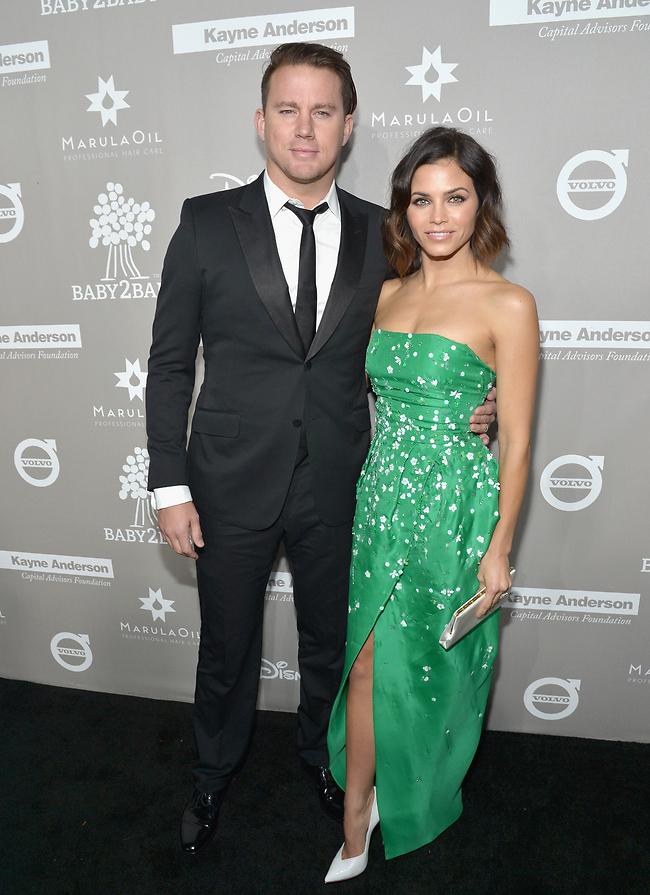 יש מצב שאתם הזוג הכי יפה בהוליווד. הטייטומים (צילום: Gettyimages)