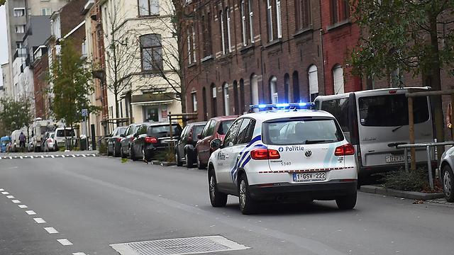 ניידות משטרה בבריסל (צילום: AFP) (צילום: AFP)