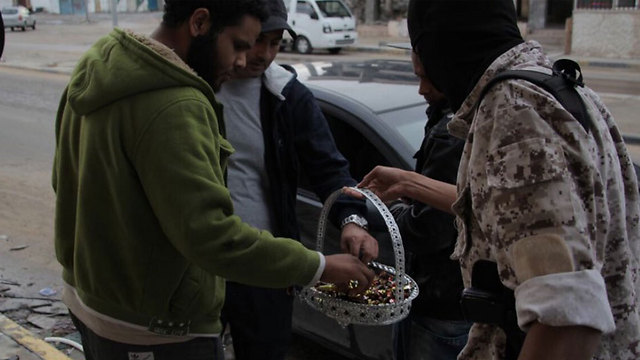 ISIS fighters in Sirte