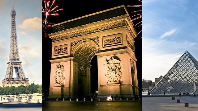 פריז: שכחו מהמקומות הרגילים ותתכוננו להיות מופתעים ()