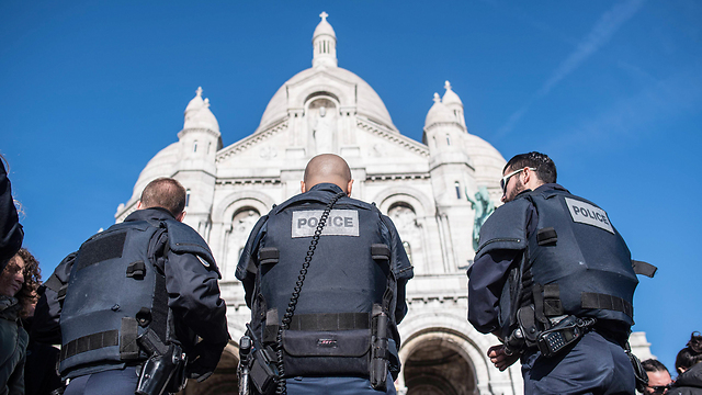 Police on high alert in France. (Photo: AP)