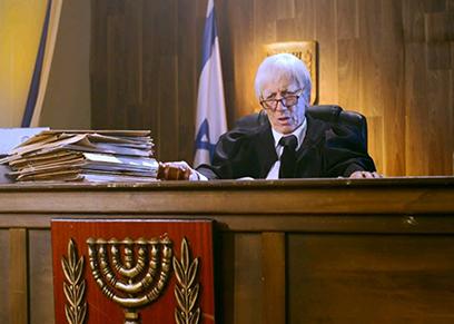 בית המשפט (צילום: HOT)