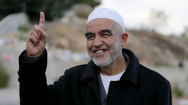 Raed Salah, Head of the Islamic Movment's Northern Branch (Photo: Reuters)