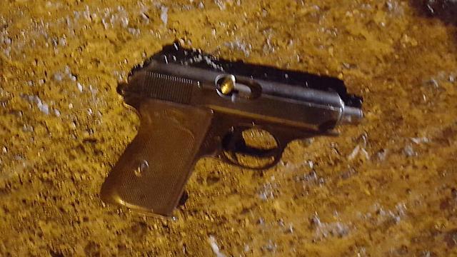 Gun used in the Turmus Ayya attack