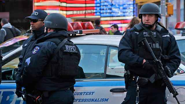 Police in NYC (Photo: AP)