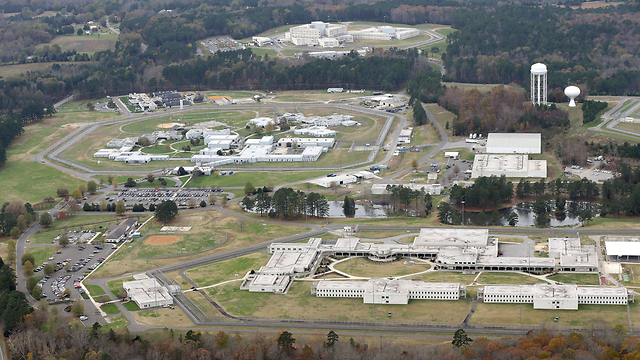 The federal prison in North Carolina where Pollard served his time (Photo: AP)