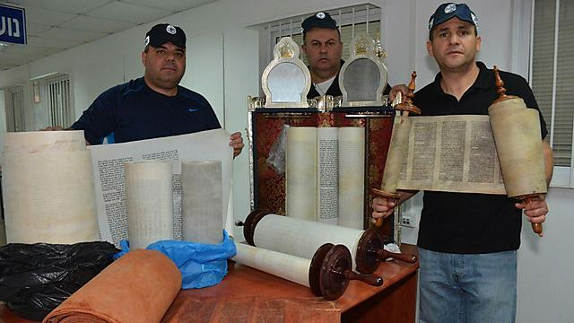 Some of the scrolls in question (Photo: Police spokesperson)