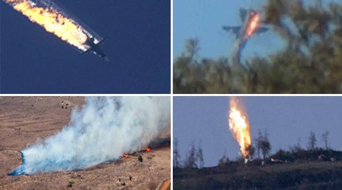 ההתנגשות הייתה בלתי נמנעת. המטוס הרוסי שהופל (צילום: רויטרס, EPA) (צילום: רויטרס, EPA)