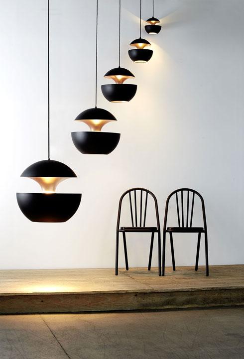 מנורות בשם ''הנה באה השמש'' ב''אקסקלוסיב''. לנו הן דווקא הזכירו תפוח נגוס