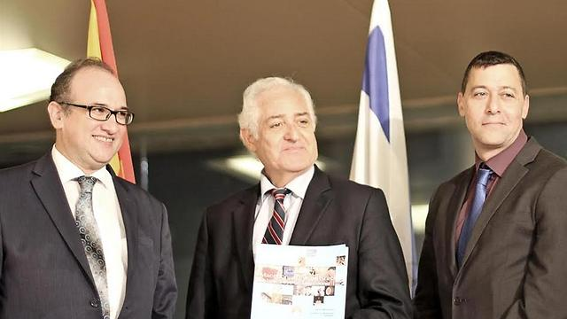 דן אוריין, יצחק אלדן, פאיו אבירוויקץ  (צילום: חדוה רוקח) (צילום: חדוה רוקח)