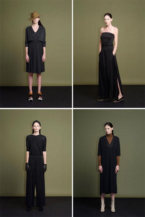 הרואיק. מבחר מצומצם של שמלות, שכל אחת מהן מצליחה לייצר עניין  (צילום: גיא נחום-לוי)