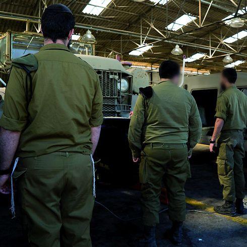 Ultra-Orthodox soldiers (Photo:IDF Spokesperson's Unit)