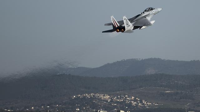 """תרגיל חיל האוויר. """"כאילו התקפה אמיתית"""" (צילום: דובר צה""""ל) (צילום: דובר צה"""