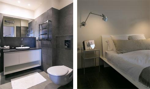 חדרי השינה פונים לחצר הפנימית השקטה, ולכן אפשר להשאיר את החלונות פתוחים (צילום: שירן כרמל)