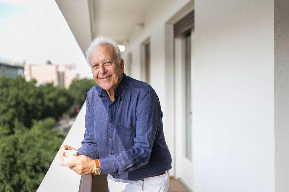 ''הישראלים עובדים מאוד קשה אבל יודעים לקחת את הטוב שבחיים'', אומר ג'ו (צילום: שירן כרמל)
