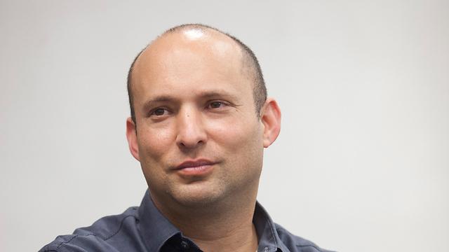 Bayit Yehudi leader Naftali Bennett (Photo: Motti Milrod)