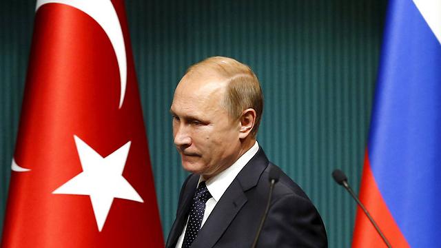 Russian President Putin. Recent clashes with Turkey worry Erdogan (Photo: Reuters)