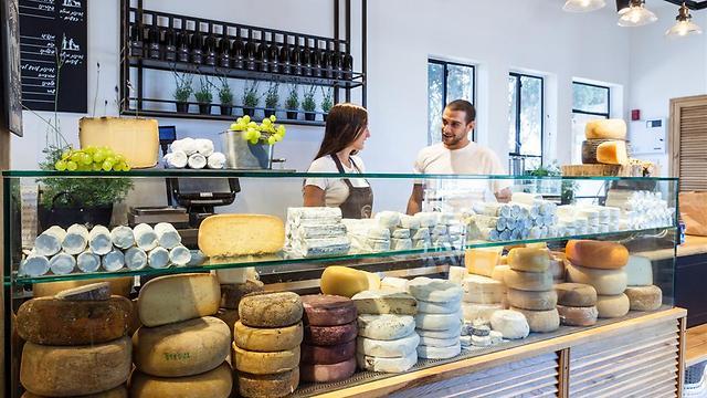 גבינות משק יעקבס (צילום: אסף רונן) (צילום: אסף רונן)