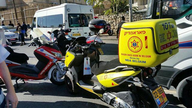 The scene of the second attack (Photo: Hatzala)