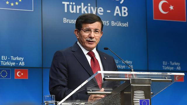 ראש ממשלת טורקיה דבוטאולו (צילום: AFP) (צילום: AFP)